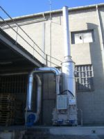 Air Cleaning Plant.Srubber